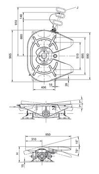 Седло JSK38G-1  (2,5  или 3,5 дюйма)  для бездорожья