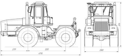 Схема К-702М-СХТ