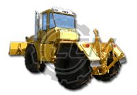 Трактор-тягач К-703МА-12-04Т с универсальным отвалом и гидрокрюком (2)
