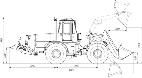 Kirovets trattori UDMT1-TM200
